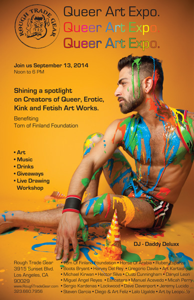 2014 Queer Art Expo at Rough Trade Gear