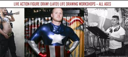 Live Action Figure Draw! (LAFD!) Life Drawing Workshop